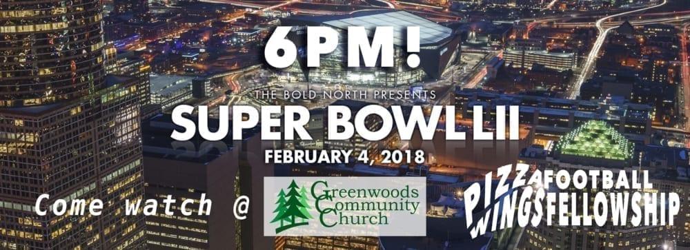 GCC Super Bowl Party! @ Greenwoods Community Church | Sheffield | Massachusetts | United States