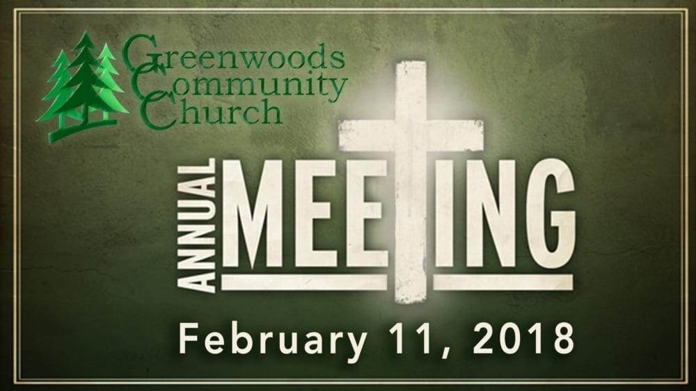 GCC Annual Meeting @ Greenwoods Community Church | Sheffield | Massachusetts | United States