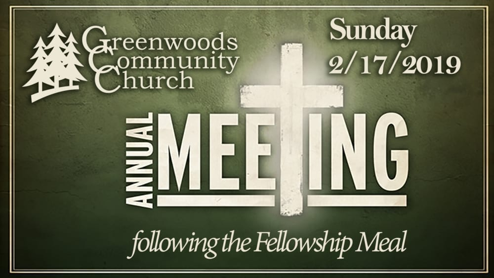 GCC Annual Meeting @ Greenwoods Community Church | Sheffield | Massachusetts | United States