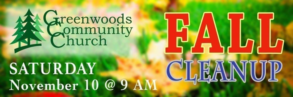 GCC Fall Cleanup @ Greenwoods Community Church | Sheffield | Massachusetts | United States