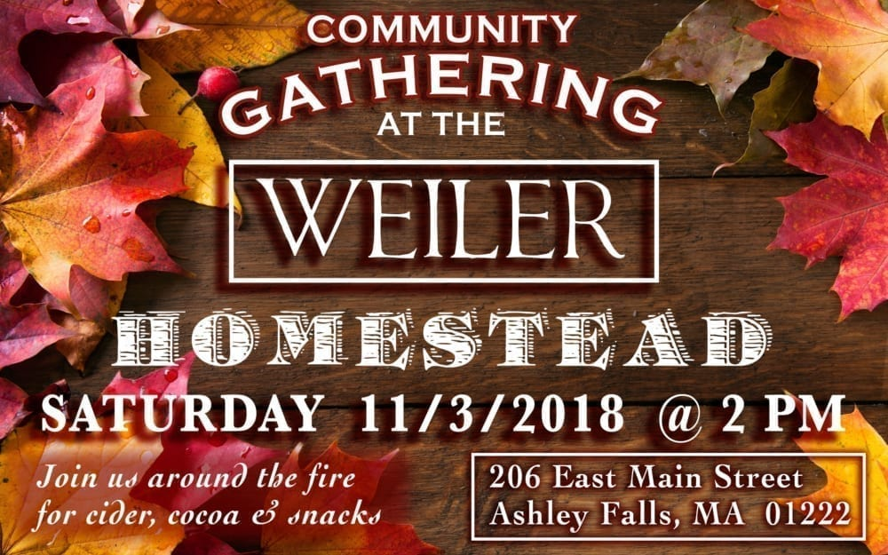 Community Gathering at the Weiler's @ The Weiler Family | Sheffield | Massachusetts | United States
