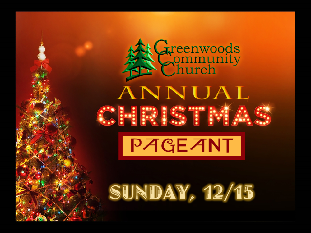 GCC Annual Christmas Pageant @ Greenwoods Community Church | Sheffield | Massachusetts | United States